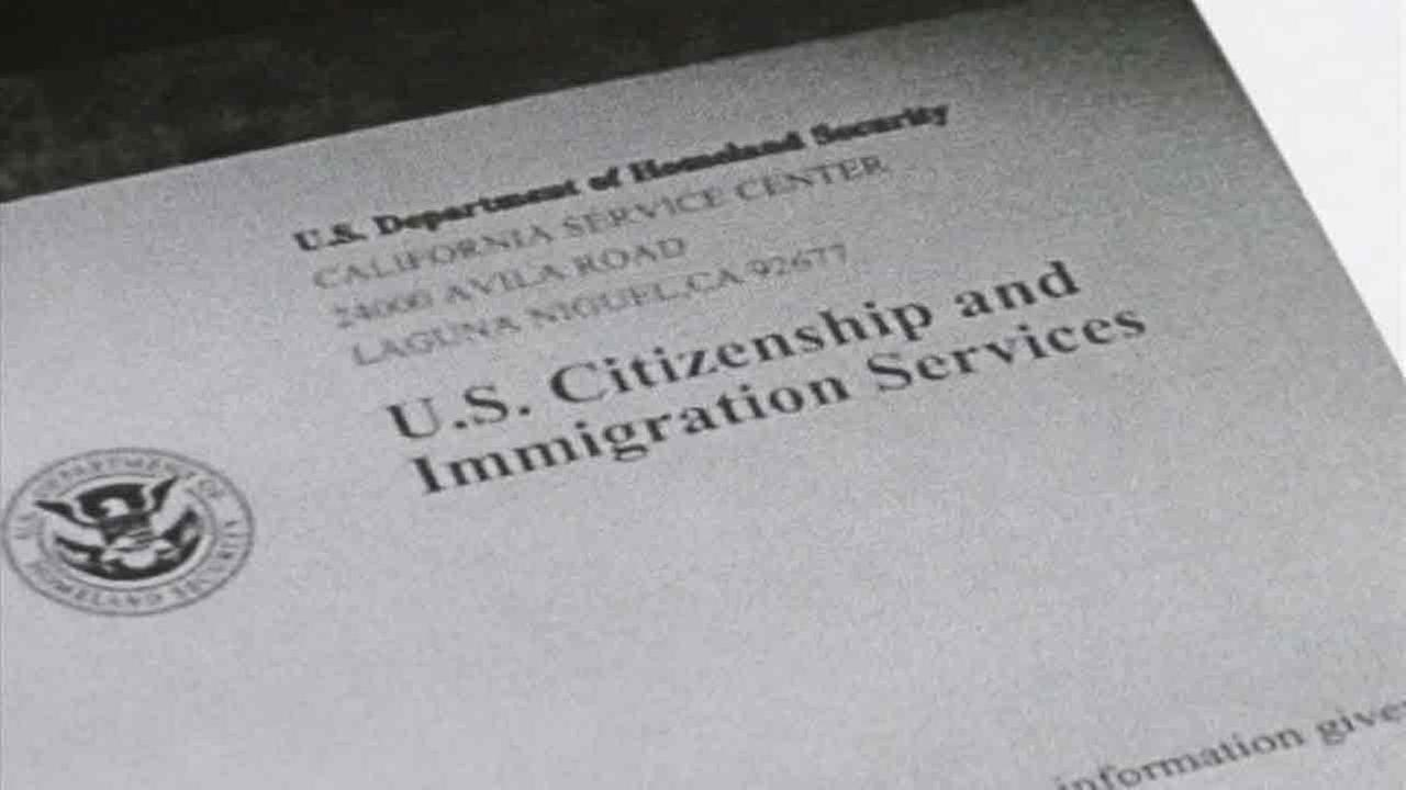 A generic image of a U.S. Citizenship and Immigration Services document.
