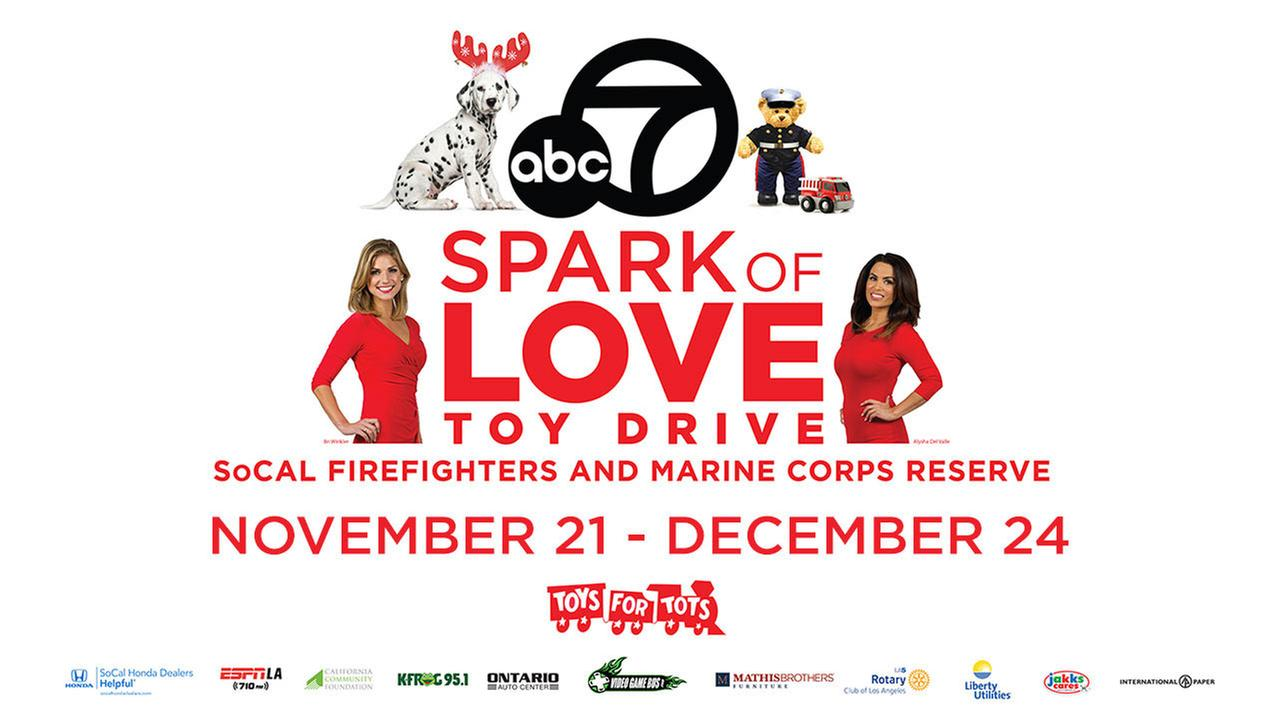 Spark of Love Toy Drive 2016 - Donate today