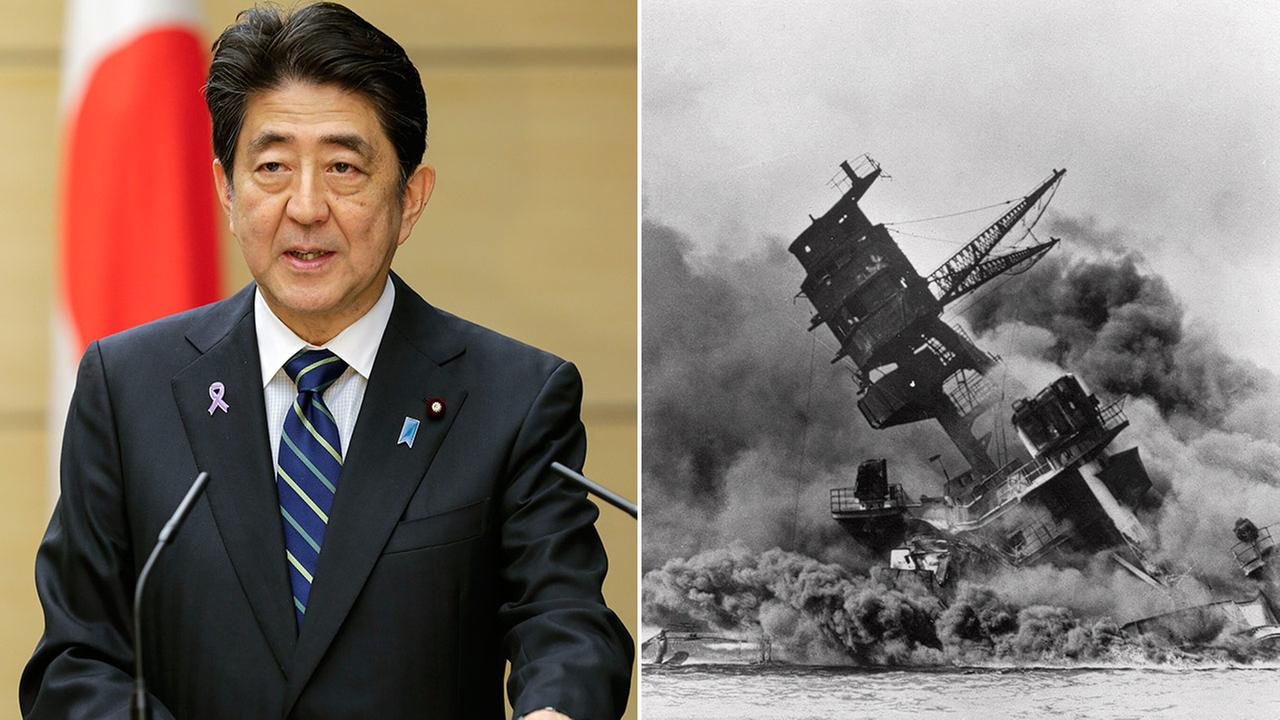Japanese Prime Minister Shinzo Abe (left) will become the countrys first leader to visit the site of Pearl Harbor.
