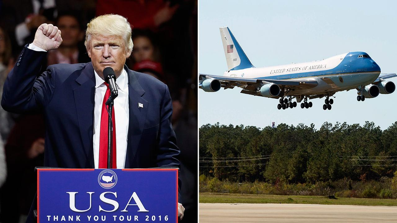 President-elect Donald Trump said he canceled the new Air Force One from Boeing due to the cost.