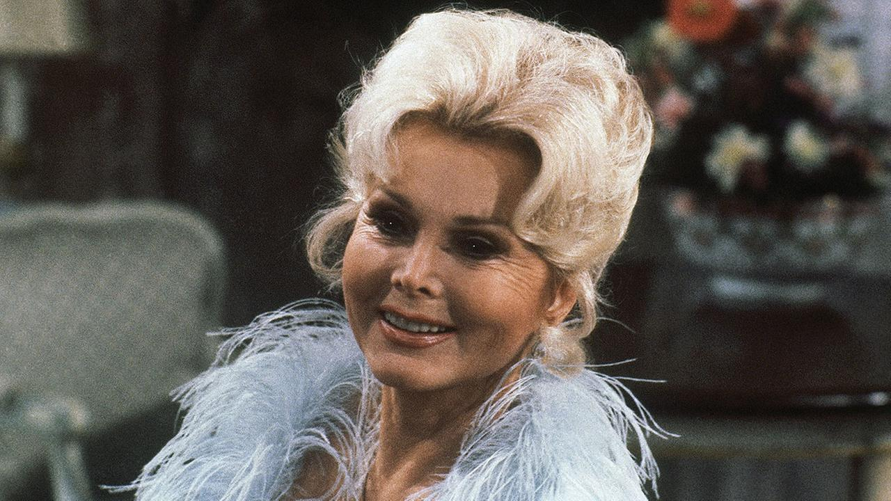 Portrait of Hungarian-American actress Zsa Zsa Gabor taken during rehearsal for CBS-TV As The World Turns on Nov. 19, 1981.