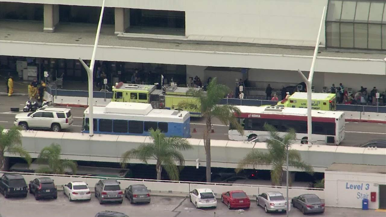 Suspicious package prompts probe at LAX on busy holiday travel day
