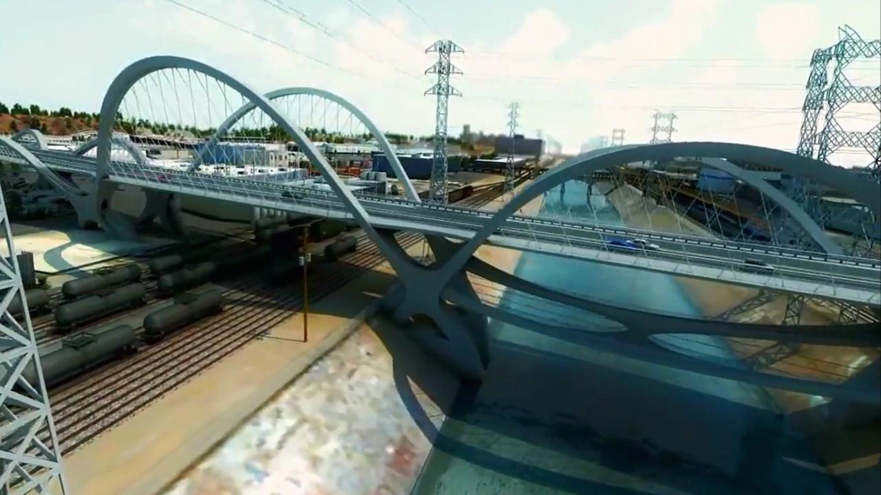 Following a refined schedule analysis, the new Sixth Street Viaduct will take eight months longer to build and cost an estimated $36 million more.