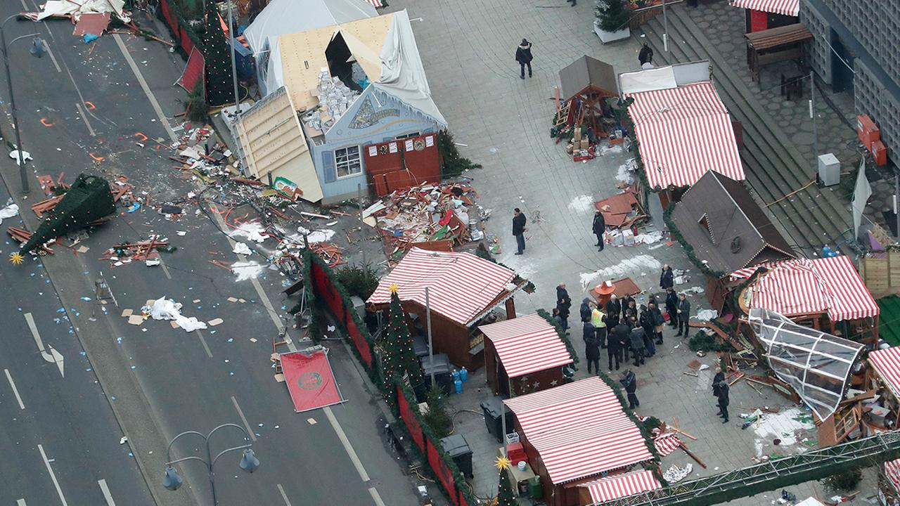 Investigators worked to determine if the Berlin Christmas market attacker received any logistical support to carry out the act.