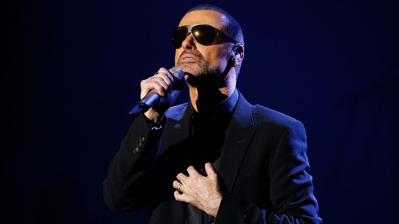 Singer George Michael performs in Prague, Czech Republic, on Monday, Aug. 22, 2011.AP Photo/Petr David Josek