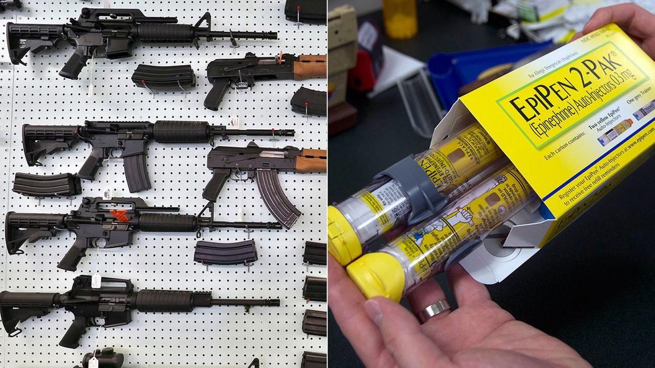 New laws take effect in California on Jan. 1, 2017 that involve restrictions on assault weapons and wider distribution of EpiPens, among other topics.