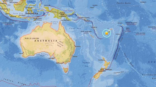 Fiji earthquake today measures magnitude 72 tsunami alert issued a 72 magnitude earthquake struck nadi fiji on tuesday jan 3 gumiabroncs Choice Image