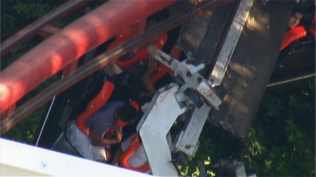 Roller Coaster Rides at Six Flags Coaster at Six Flags Magic
