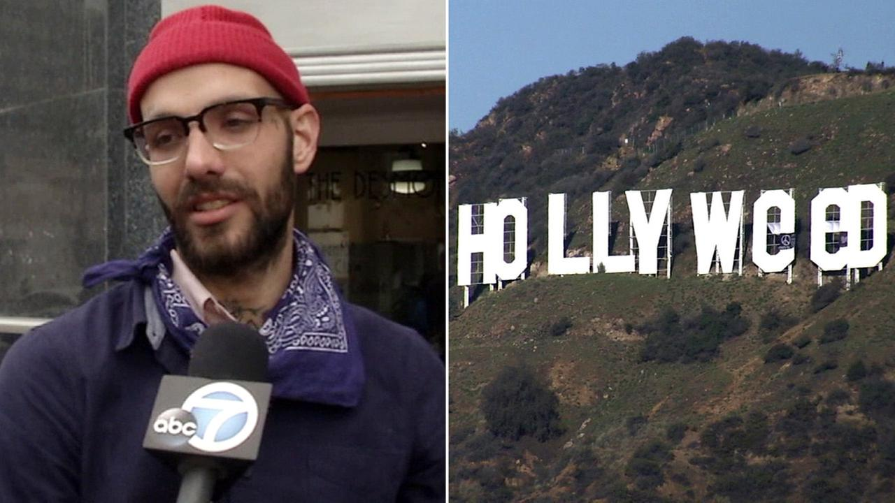 Zachary Fernandez, who admitted to changing the Hollywood sign to read Hollyweed, detailed the prank to Eyewitness News.