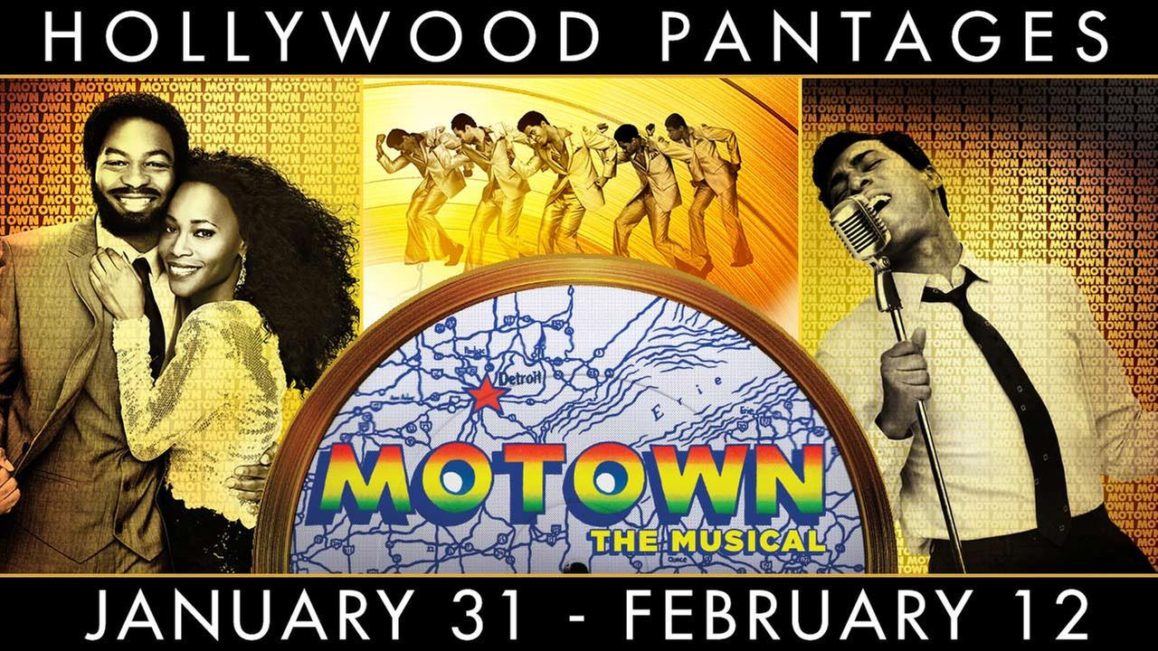 Enter for a chance to win tickets to see Motown: The Musical at the Pantages Theatre in Hollywood