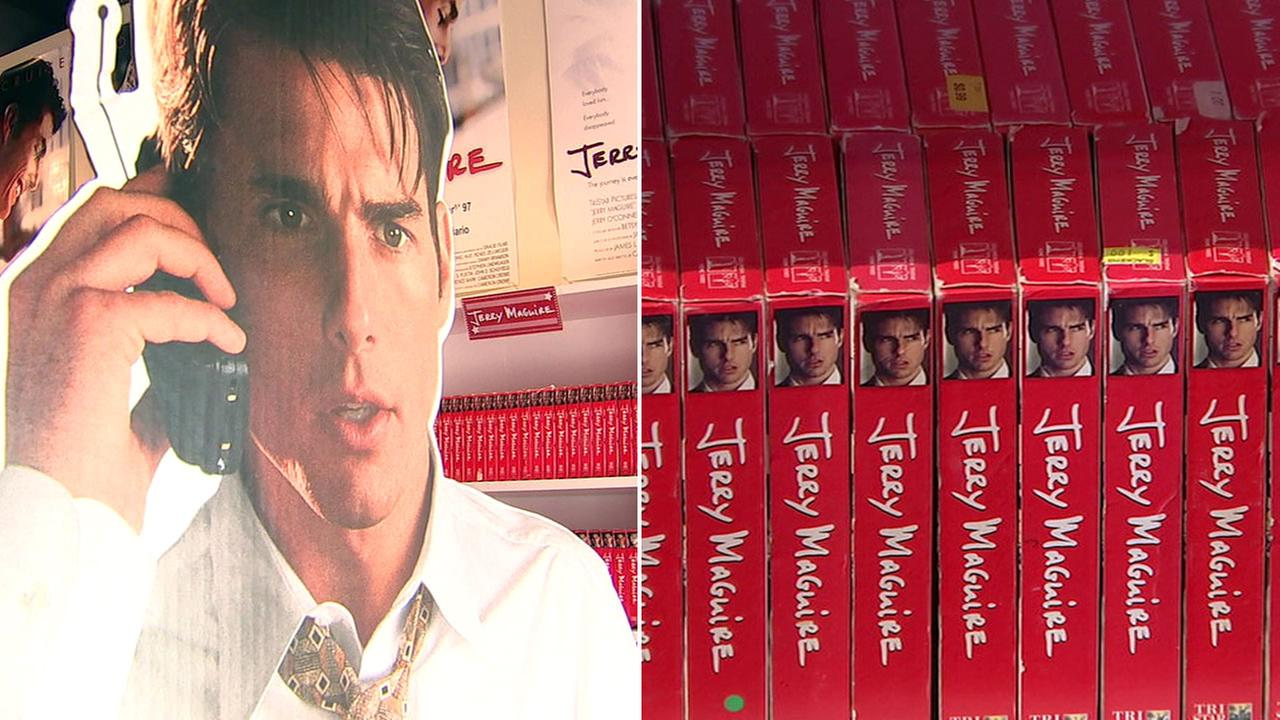 The Jerry Maguire Video Store opened in Echo Park and only features one film.