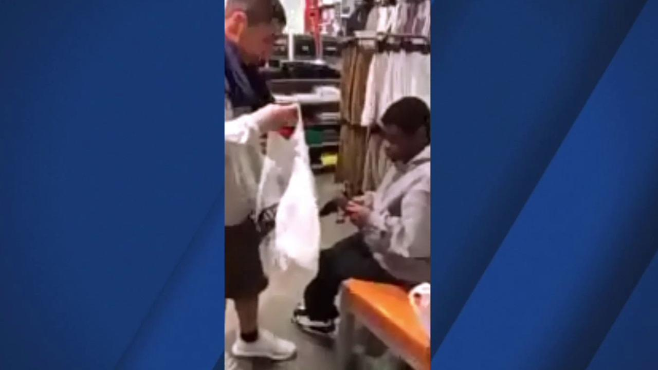A group of Champs Sports employees are being called Champions of Humanity after buying a pair of Nikes for a man who came into the store every day, but couldnt afford to buy them.