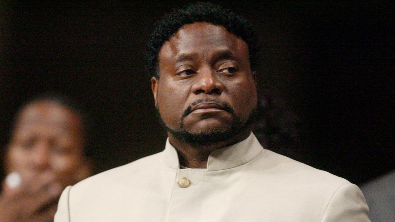 In a Sunday, Sept. 26, 2010 file photo, Bishop Eddie Long prepares to speak, at New Birth Missionary Baptist Church near Atlanta.