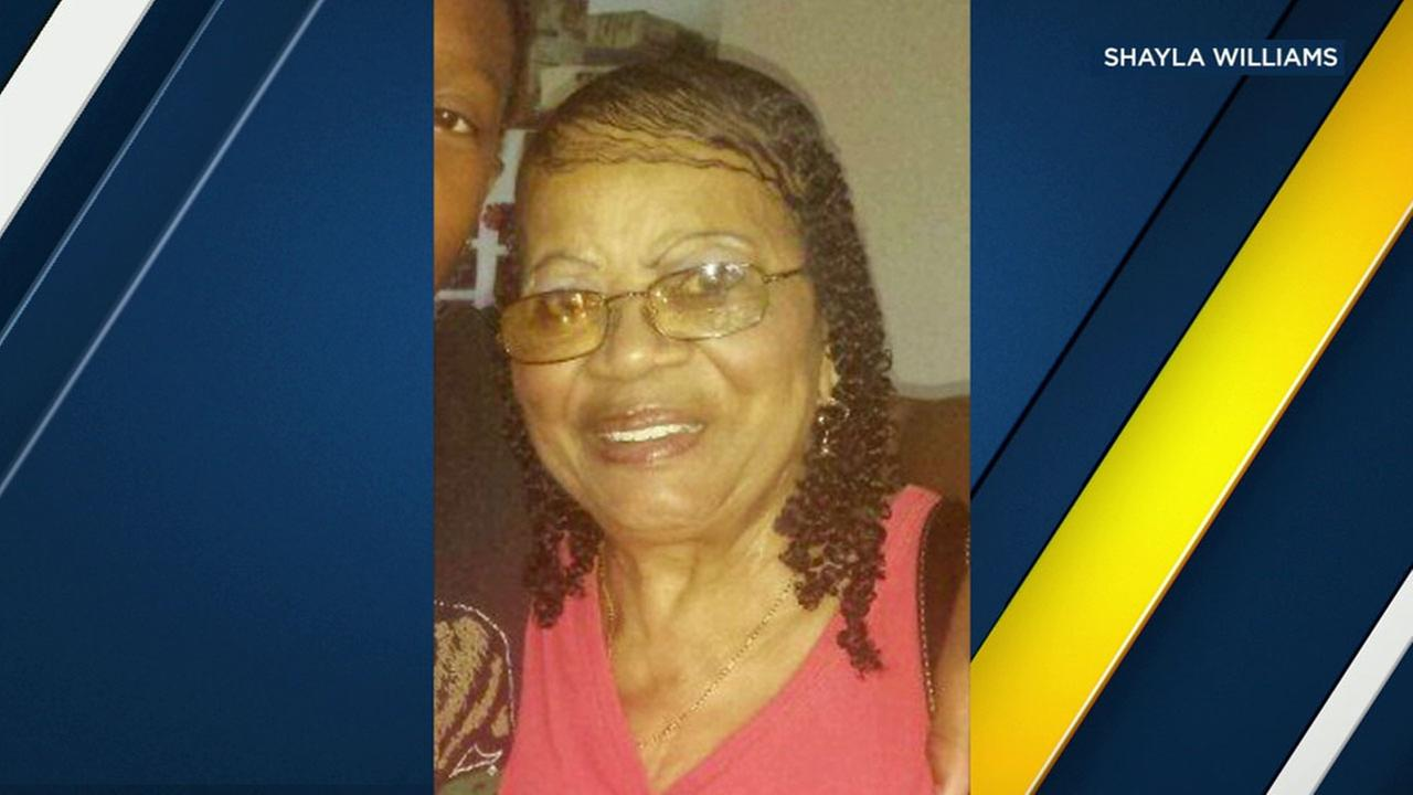 Jackie Morris, 77, is shown in an undated photo. She was struck and killed by a hit-and-run driver in Long Beach.