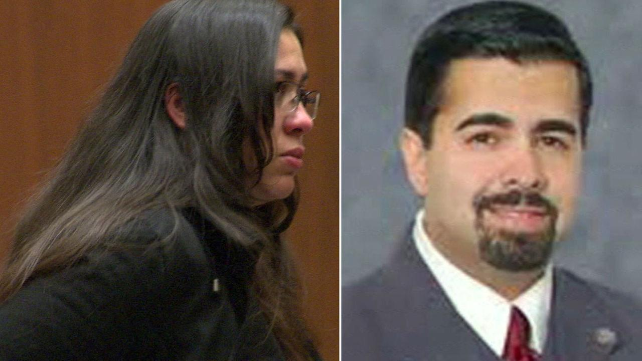 Slain Bell Gardens Mayor Daniel Crespo and his wife, Lyvette, who pleaded guilty to manslaughter in his death.