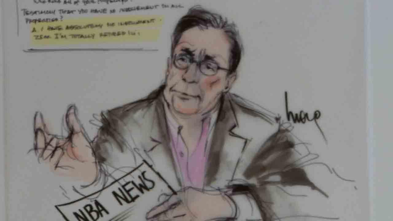 LA Clippers owner Donald Sterling called his wife a pig during the trial over the sale of the team Wednesday, July 9, 2014.