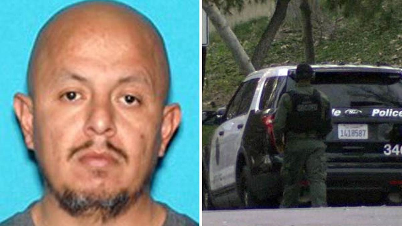 Authorities said 39-year-old Christian Jacinto was wanted for murdering his ex-girlfriend, 31-year-old Darlene Vasquez Rubin, in San Bernardino on Wednesday, Feb. 1, 2017.