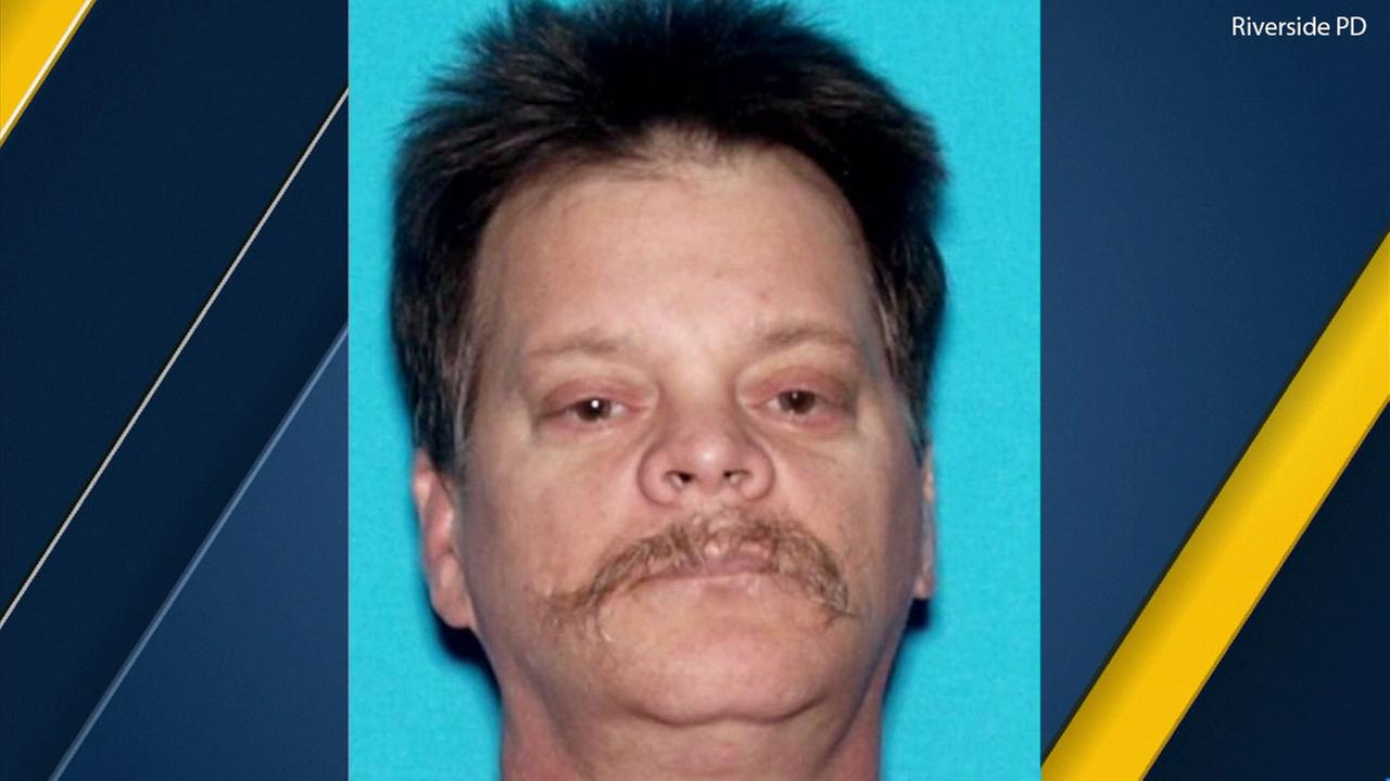 Lawrence Earl Aaseng, 55, accused of intentionally driving his car into an elderly stranger in Riverside, killing him.