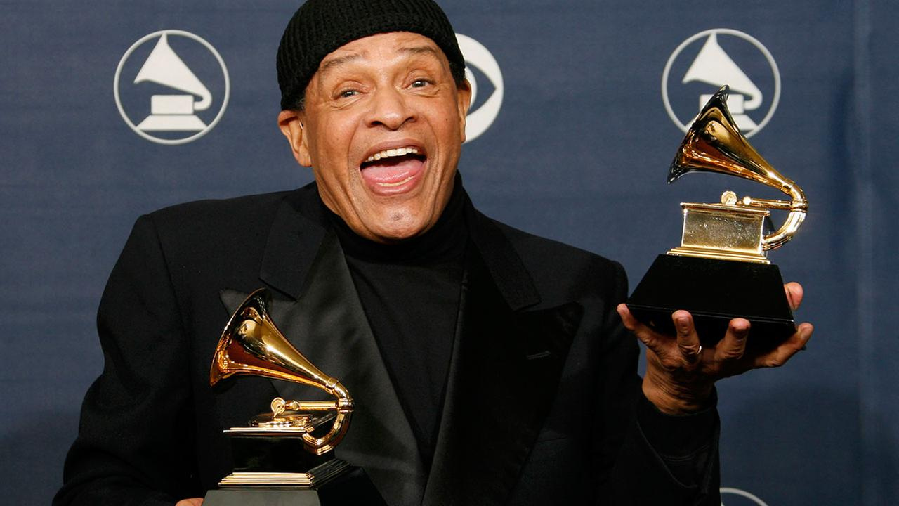 Seven-time Grammy winner and jazz legend Al Jarreau died Sunday, Feb. 12, 2017. He was 76.AP Photo/Kevork Djansezian