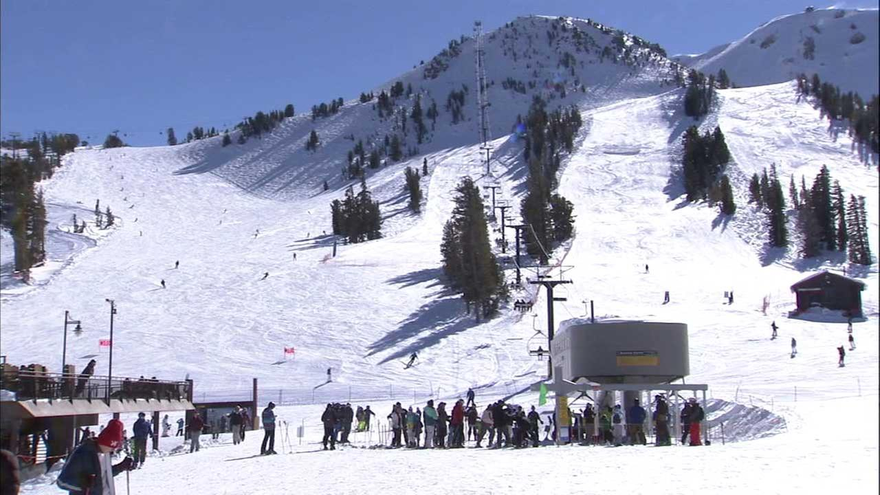 Mammoth Mountain is seen in this undated file photo.