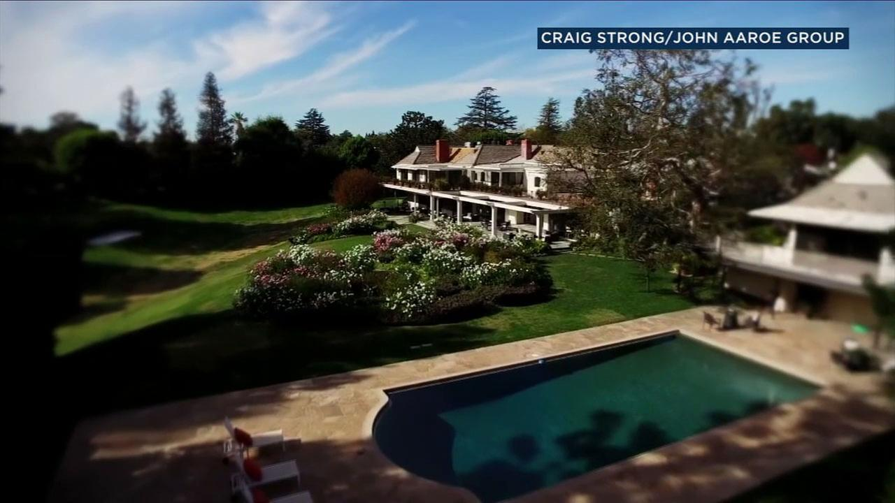 The Toluca Lake estate of legendary entertainer Bob Hope is for sale for $12 million, but a dispute is brewing with the city over the propertys potential historic status.
