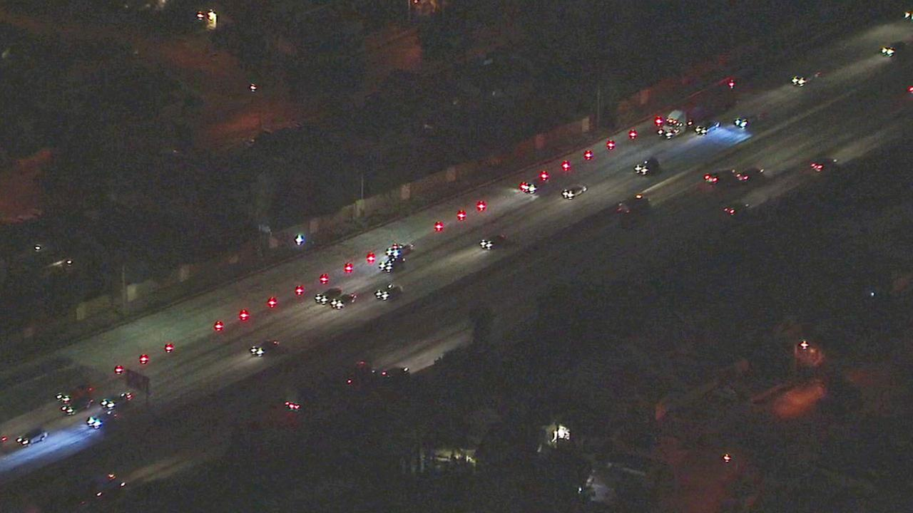 Offramp closed in Cerritos after suspect opens fire on police