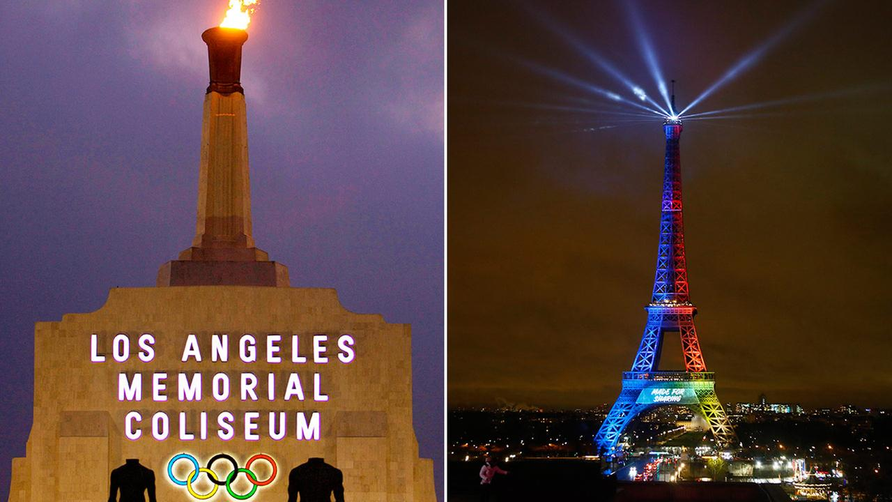 Los Angeles and Paris are the front-runners to host the 2024 Summer Olympics.