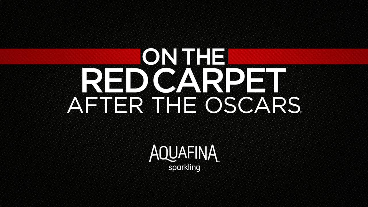 On The Red Carpet After The Oscars