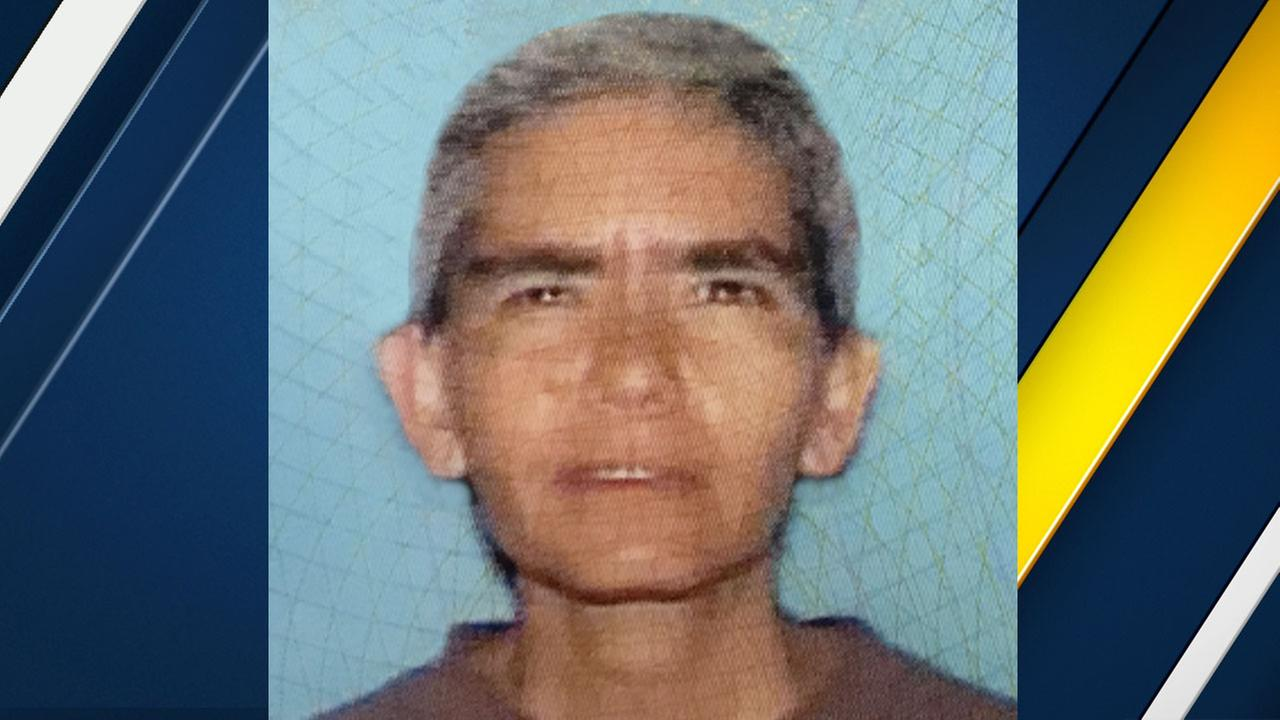 A file photo of missing woman Mary Virginia, 58, who was last seen in downtown Los Angeles on Wednesday, Feb. 1, 2017.
