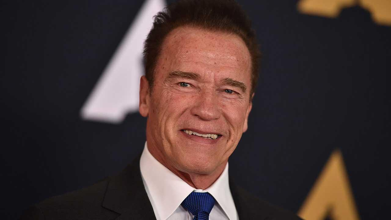 Arnold Schwarzenegger arrives at the 2016 Governors Awards on Saturday, Nov. 12, 2016 in Los Angeles
