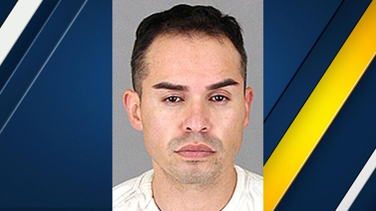 Juan Carlos Valencia, 33, of Fontana, is shown in a mugshot.