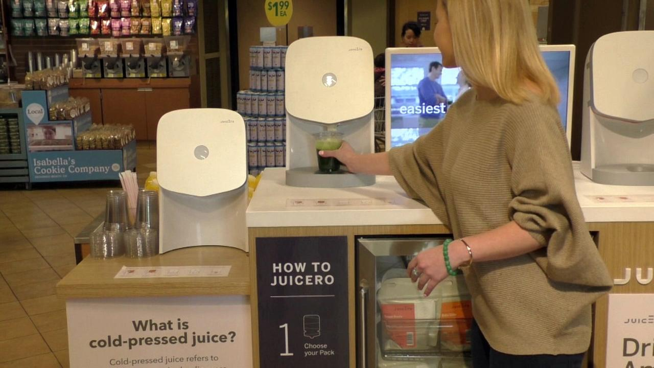 Juicero rolled out self-service stations in 11 Whole Foods Markets.