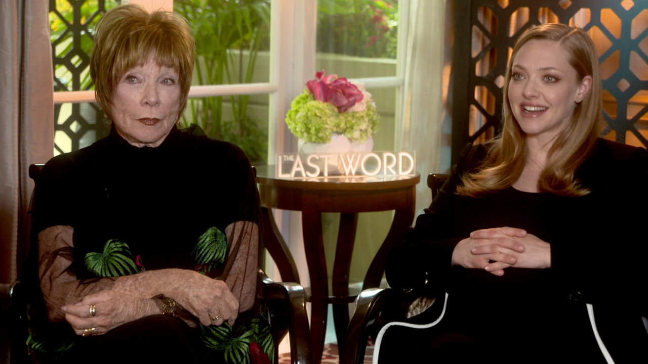 The Last World stars Shirley MacLaine and Amanda Seyfried discussed their bond during production.