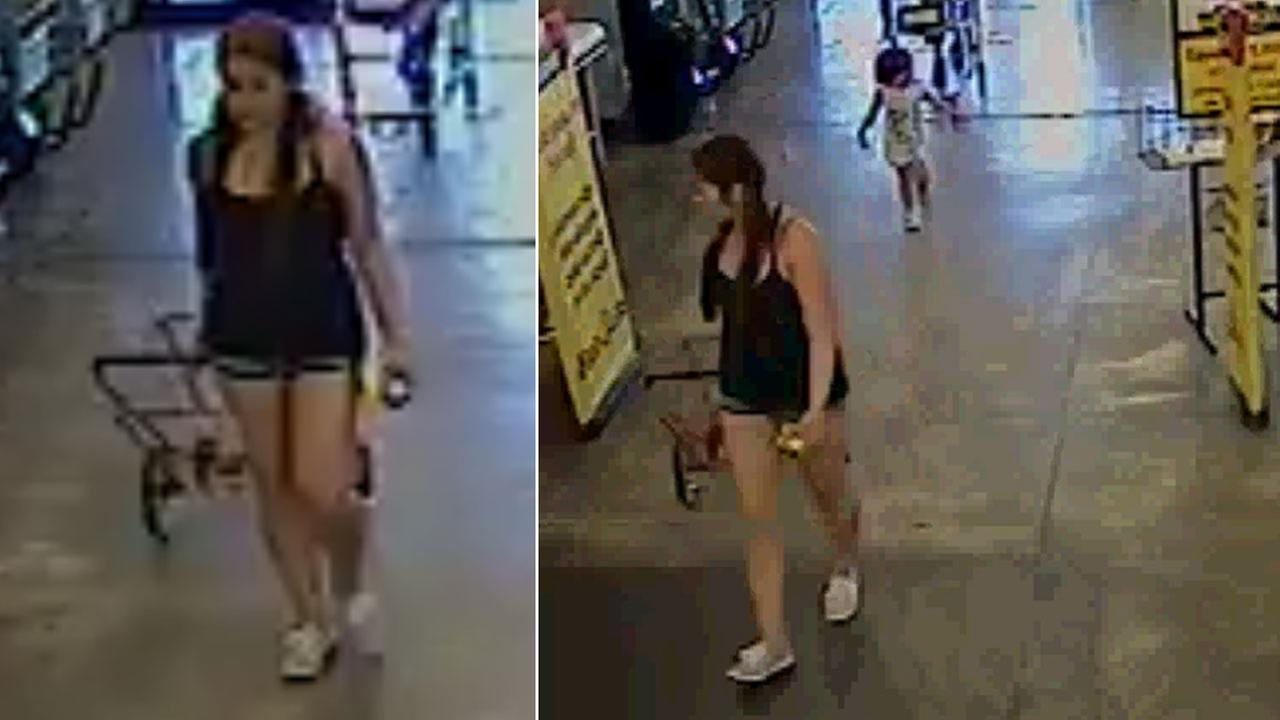 Toddler allegedly abandoned at supermarket ID's mom on surveillance video