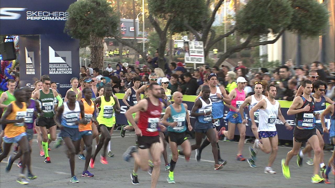 Thousands participate in 2017 LA Marathon