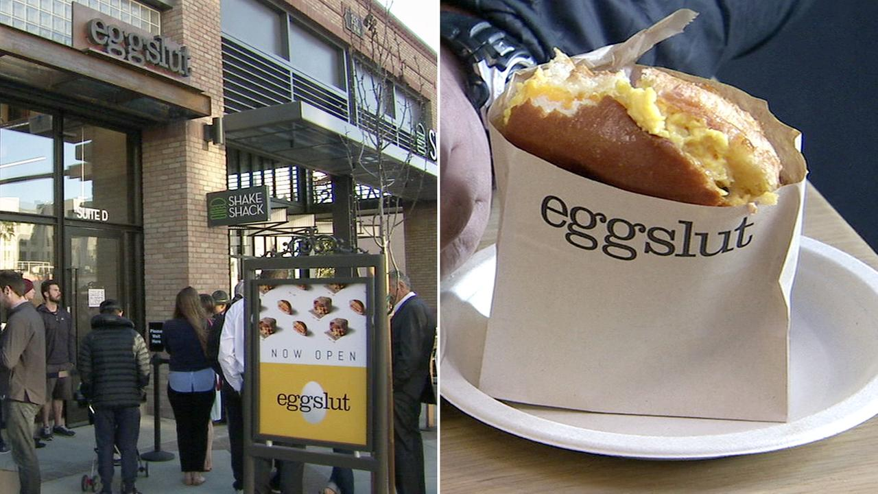 Eggslut opened at 252 S. Brand Blvd. in Glendale on Thursday, March 23, 2017.