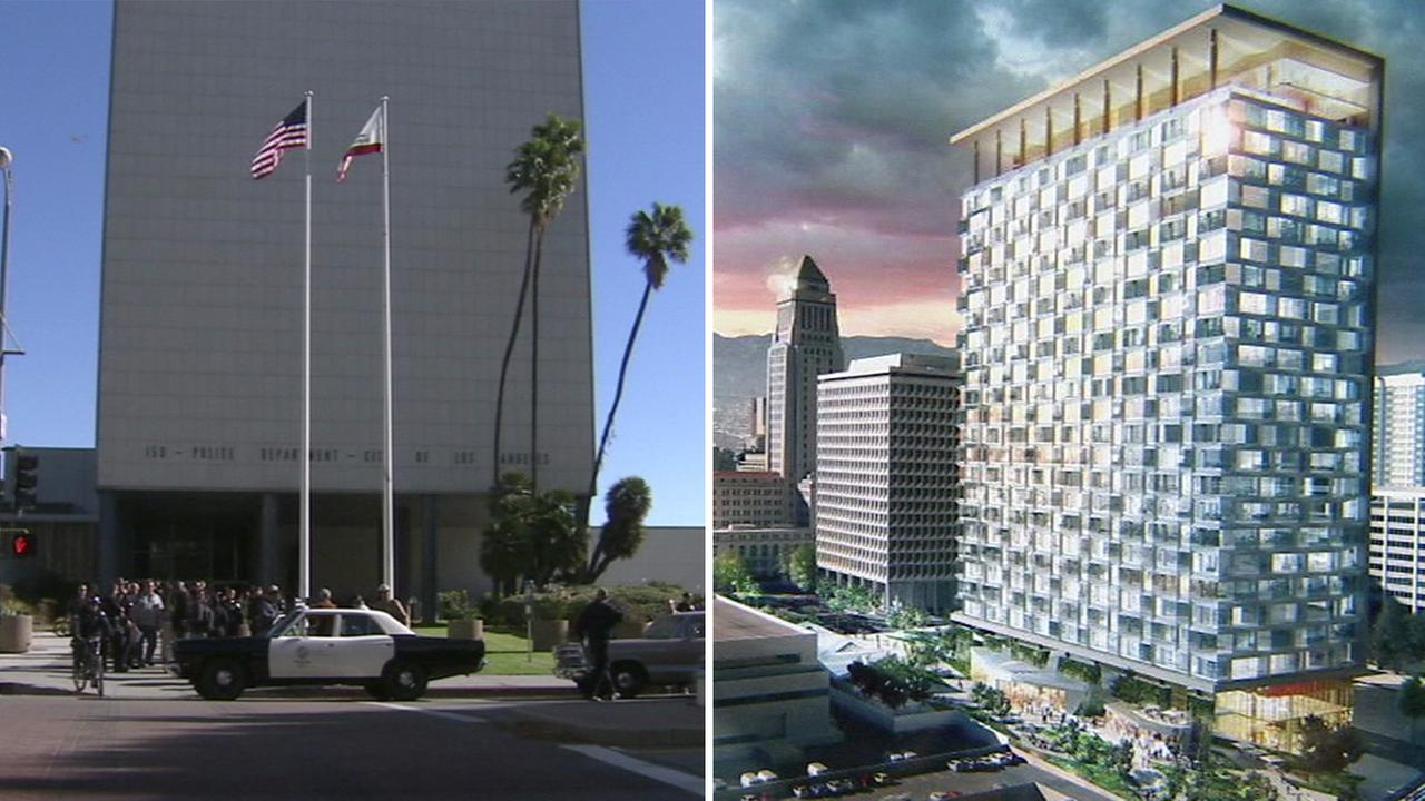 The Los Angeles City Council unanimously voted to move forward with plans to demolish Park Center and begin work on a 27-story civic center.