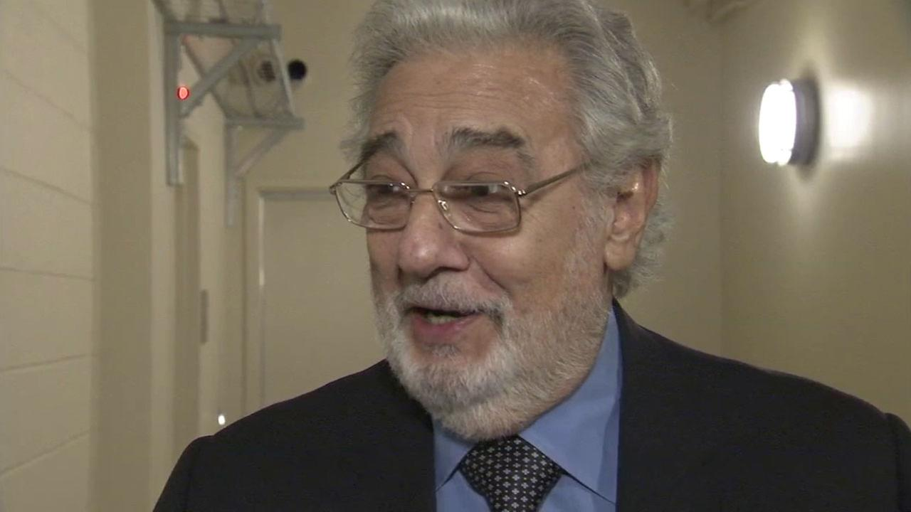 Placido Domingo, 76, is shown during an interview at Chapman University on Tuesday, March 28, 2017.