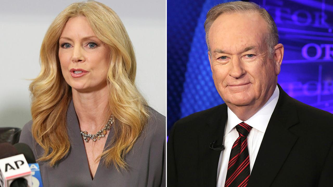 Former Fox News contributor Wendy Walsh, left, appears at a news conference in Woodland Hills on Monday, April 3, 2017, and Fox News personality Bill OReilly appears on the set of his show, The OReilly Factor on Oct. 1, 2015.