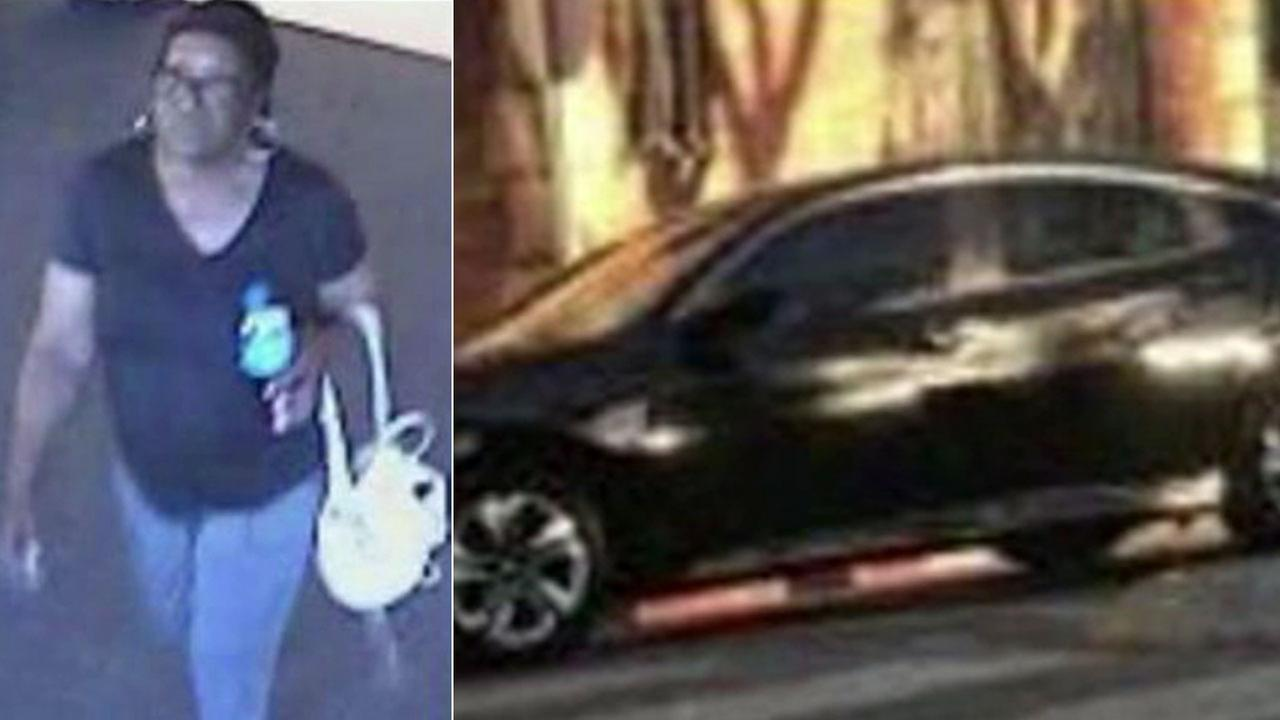 West Hollywood robbery suspect sought after nearly running over victim with car