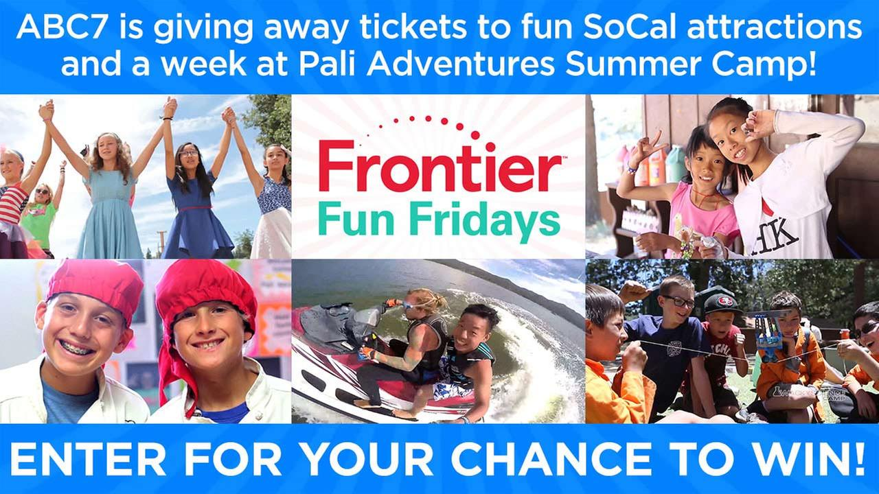 Frontier Fun Fridays: Enter for chance to win
