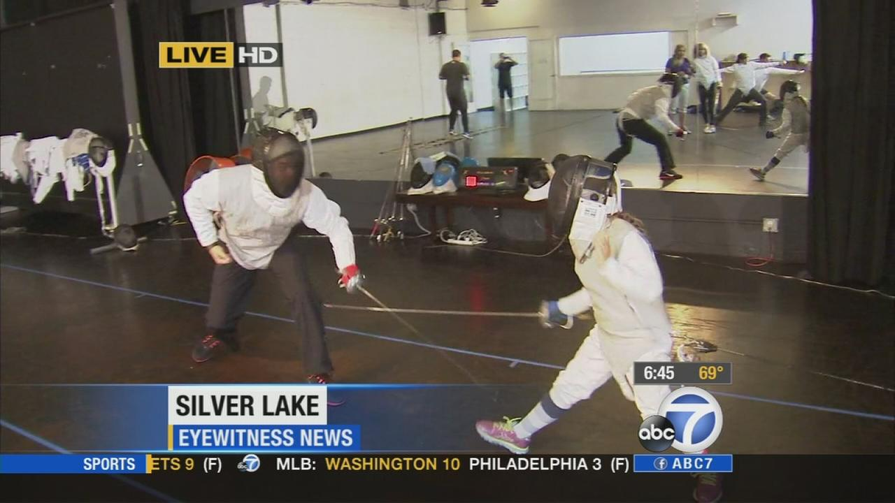 A fencing club in Silver Lake seeks to popularize the sport in Southern California.