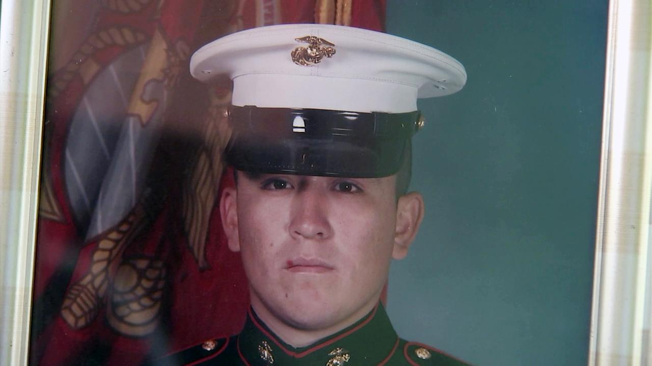 Danny Mancillas, a retired Marine, was shot and killed in Lynwood on Monday, April 3, 2017.