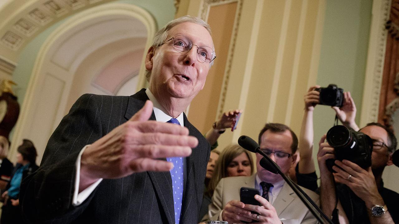 "Senate votes to ""go nuclear,"" eliminate Supreme Court filibuster"