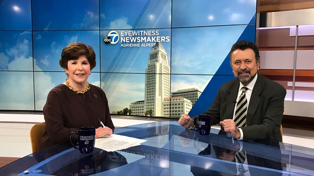 Carlos Garcia de Alba, Mexicos Consul General in Los Angeles, is this weeks Eyewitness Newsmakers guest.
