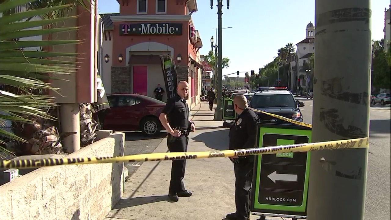 3-year-old girl shot, wounded in Exposition Park, police say