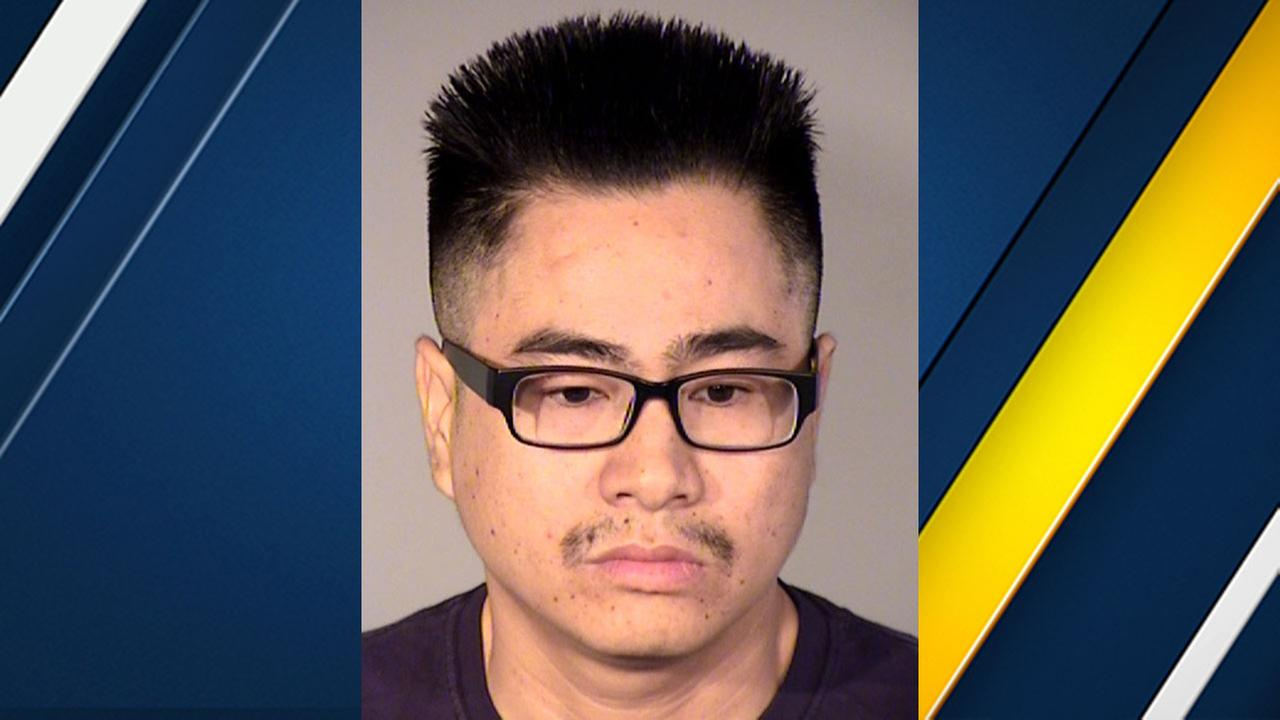 Suspect Duong Che, 36, of Rosemead, is accused of giving a co-worker a chocolate bar laced with THC without her knowledge.