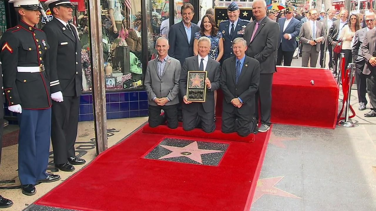 Actor Gary Sinise was honored on the Hollywood Walk of Fame on Monday, April 17, 2017.