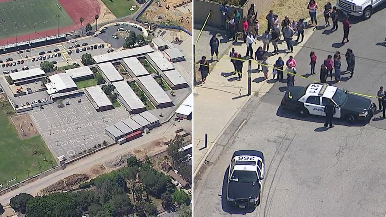 Torrance Elementary School was evacuated due to a bomb threat on Tuesday, April 18, 2017, according to officials.
