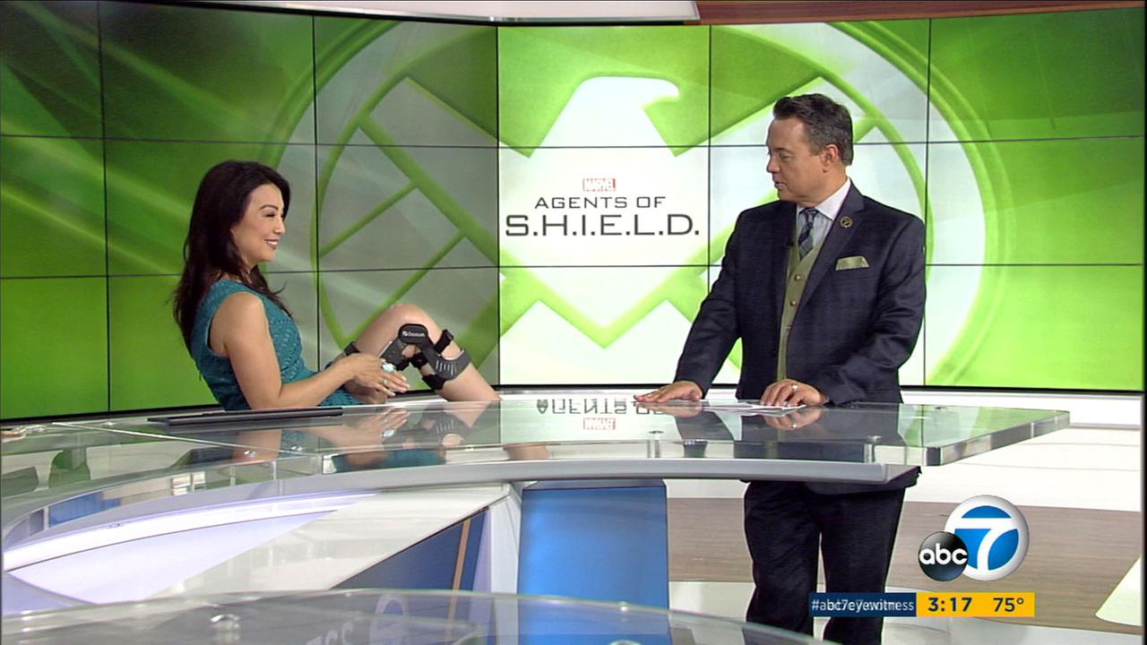 'Agents of S.H.I.E.L.D' star Ming-Na Wen talks about role, tricky stunts